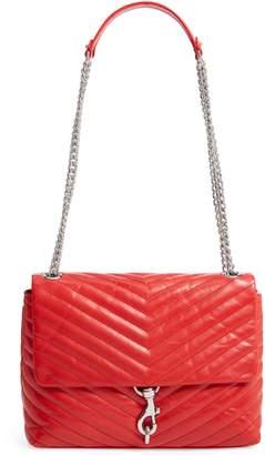 Rebecca Minkoff Edie Metallic Leather Shoulder Bag