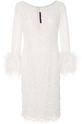 Joanna Mastroianni M'O Exclusive: Embellished Long Sleeve Dress