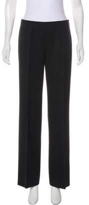 Alaia Mid-Rise Wide-Leg Pants