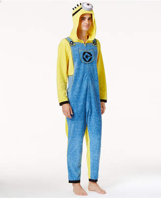 Briefly Stated Men's Minions Costume Jumpsuit