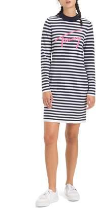 Tommy Jeans TJW Chenille Logo Stripe Dress