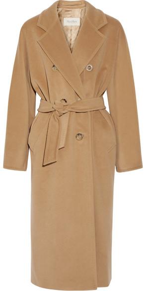 Max MaraMax Mara - Madame 101801 Wool And Cashmere-blend Coat - Camel