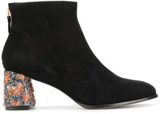 Sophia Webster Sam encrusted heel boots