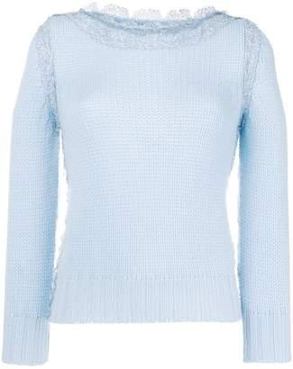 Ermanno Scervino boat neck sweater