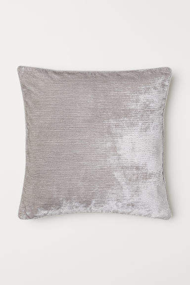 H&M - Textured-weave Cushion Cover - Brown