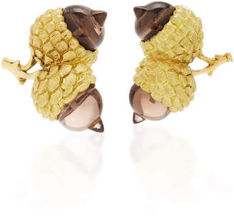Luz Camino Acorn Earrings