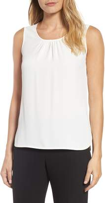 Anne Klein Shirred Neck Tank