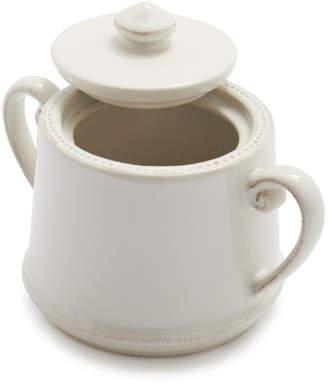 Sur La Table Pearl Stoneware Sugar Bowl