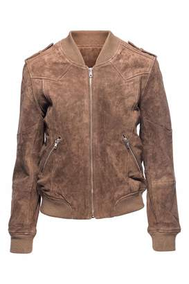 Blank NYC Midnight Toker Jacket $168 thestylecure.com