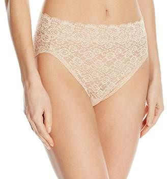 Vanity Fair Women's Flattering Lace Hi-Cut Panty 13280 $11.50 thestylecure.com