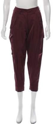 Stella McCartney High-Rise Cropped Pants