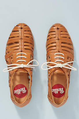 Rollie Derby Cage Leather Oxfords