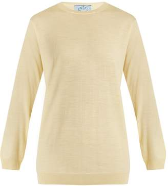 Prada Crew-neck wool-knit sweater