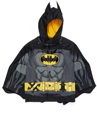 Toddler Boy's Western Chief Batman Everlasting Hooded Raincoat $50 thestylecure.com