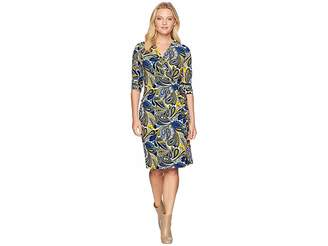 Anne Klein Classic Wrap Dress Women's Dress