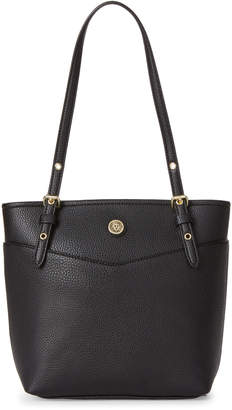 Anne Klein Black Pocket Tote