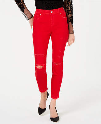 INC International Concepts I.n.c. Colored Skinny Ankle Jeans