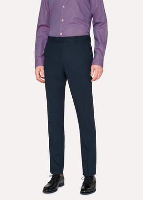 Paul Smith Men's Slim-Fit Navy Wool Pants