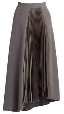 Akris Wrap Effect Skirt