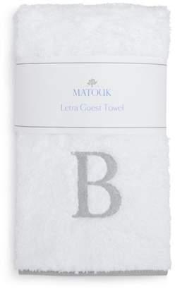 Matouk Letra Monogram Guest Towel - 100% Exclusive
