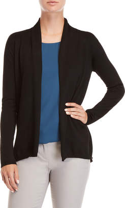Joan Vass Open Hi-Low Cardigan
