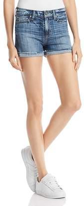 Paige Jimmy Jimmy Denim Shorts in Haley Destructed