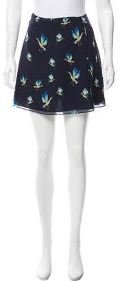 Jason Wu Grey by Printed Mini Skirt
