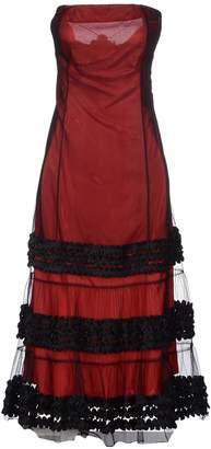 Amaya Arzuaga 3/4 length dresses