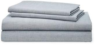 Lauren Ralph Lauren Graydon Melange 212 Thread Count 100% Cotton Sheet Set