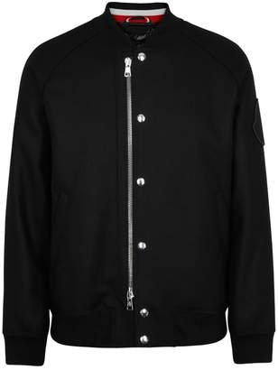 Moncler Ica Black Wool Jacket