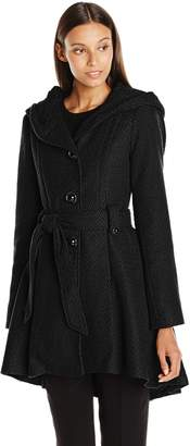 Steve Madden Women's Single Breasted Wool Coat