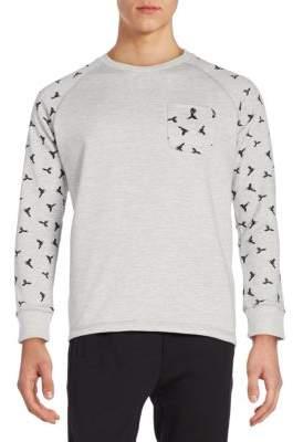 Sovereign Code Bird-Print Sweatshirt