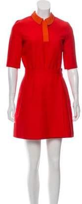 Victoria Beckham Victoria A-Line Mini Dress