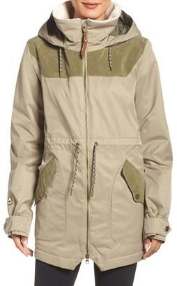 Women's Burton 'Prowess' Fleece Lined Waterproof Jacket $259.95 thestylecure.com