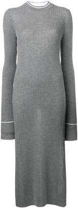 Maison Margiela long knitted dress