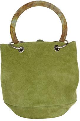 Edie Parker Olivia Small Suede Bucket Bag $1,295 thestylecure.com