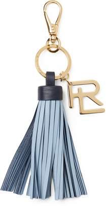 Ralph Lauren Calfskin Fringe Key Chain