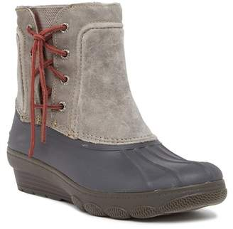 Sperry Saltwater Wedge Spray Duck Boot