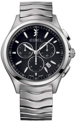 Ebel Wave Chronograph Bracelet Watch, 42mm