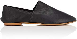 Barneys New York WOMEN'S LEATHER FLATS