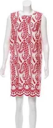 Giambattista Valli Embroidered Mini Dress