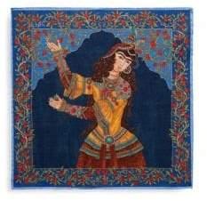 Eton Wool Persian Woman Pocket Square