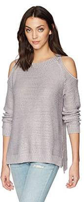 Show Me Your Mumu Women's Shiver Sweater with Exposed Shoulders