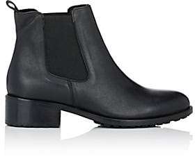 Barneys New York Women's Shearling-Lined Chelsea Boots-Black