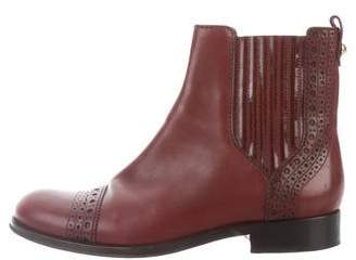 Louis Vuitton Brogue Ankle Boots
