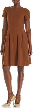 pink tartan Pleated Dress $375 thestylecure.com