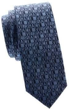 Versace Logo Silk Tie