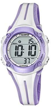 Calypso Unisex-Adult Digital Quartz Watch with Plastic Strap K5682/7