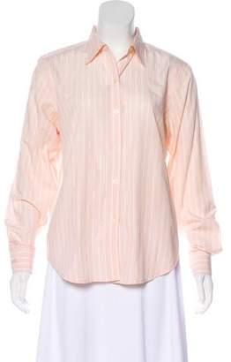 Lauren Ralph Lauren Striped Button-Up top