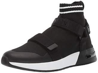 Armani Exchange A|X Men's Double Strap High Top Sneaker Black/White